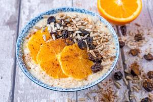 Spiced Orange Porridge