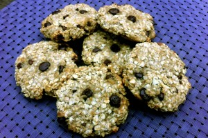 2 Ingredient Healthy Cookies