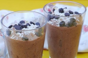2 Minute Healthy Chocolate Ice Cream