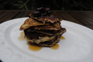 3 Ingredient Flourless Pancakes