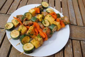 Caribbean Spiced Chicken Skewers