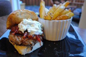 Cumin Spiced Lamb Burger