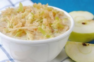 Healthy Apple Pie Oats