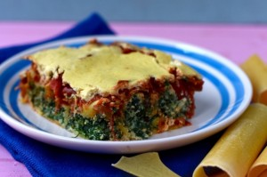 Healthy Spinach Ricotta Cannelloni