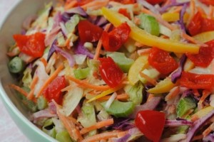 Healthy Summer Coleslaw