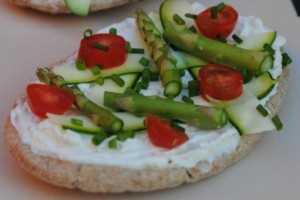Spring Vegetable Pizza