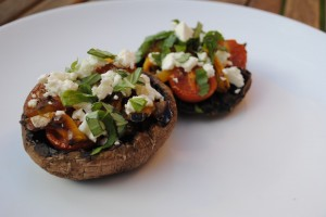 Stuffed Portabello Mushrooms